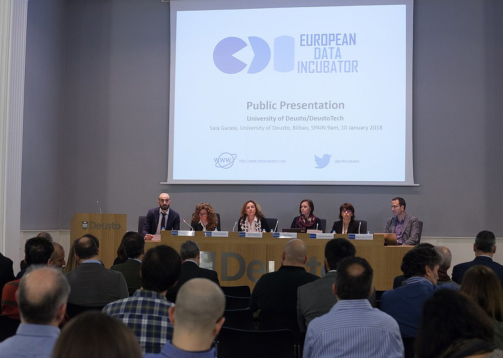 Public presentation of EDI project at University of Deusto