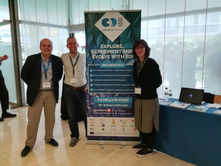 EDI at the EU Startups Summit in Barcelona