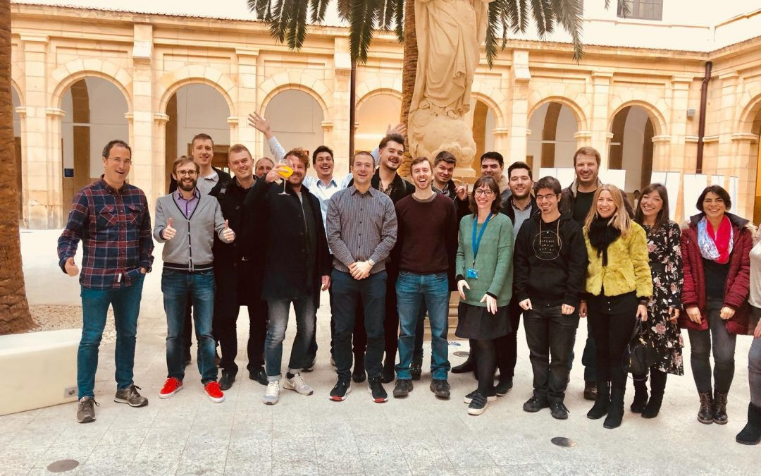 Half-time catch-up: Motivational speeches and coaching for the EDI startups in Bilbao!