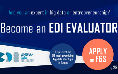 Are you an big data or entrepreneurship expert? Become an EDI Evaluator!