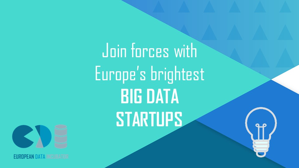 Join forces with Europe's brightest startups to solve your company's big data challenges