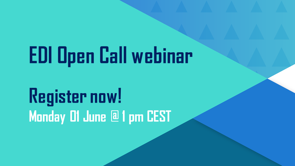 Three weeks left to apply to EDI! Last chance to join our live Q&A webinar