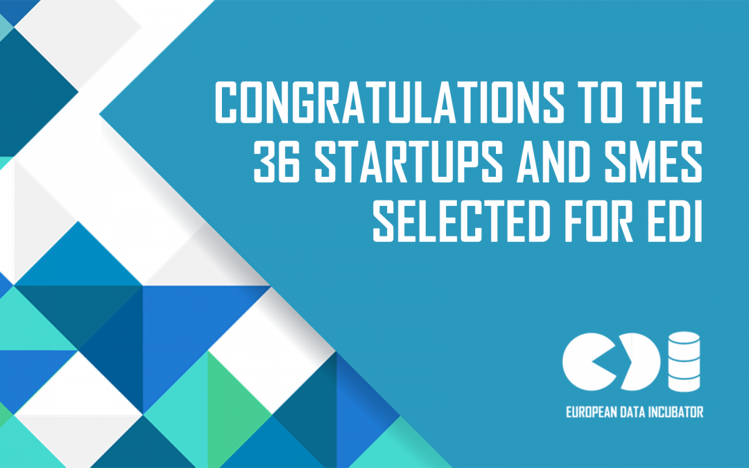 Meet the 36 brightest Big Data startups in Europe: the EDI startups!